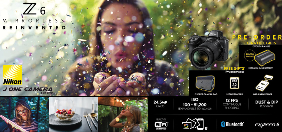 Nikon Z6 Pre Order