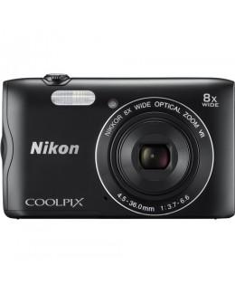 Nikon COOLPIX A300 Digital Camera (Black) ( Nikon Malaysia )