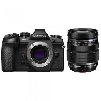 Olympus OM-D E-M1 Mark II Mirrorless Micro Four Thirds Camera with 12-40mm f/2.8 Lens Kit (Black) ( Olympus Malaysia )