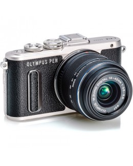 Olympus PEN E-PL8 Mirrorless Micro Four Thirds Digital Camera with 14-42mm Lens (Black) ( Olympus Malaysia )