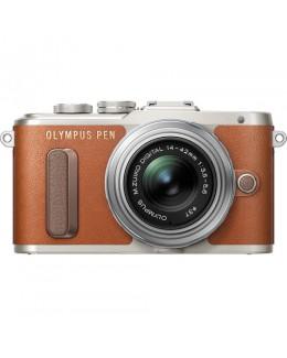 Olympus PEN E-PL8 Mirrorless Micro Four Thirds Digital Camera with 14-42mm Lens (Brown) ( Olympus Malaysia )