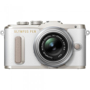 Olympus PEN E-PL8 Mirrorless Micro Four Thirds Digital Camera with 14-42mm Lens (White) ( Olympus Malaysia )