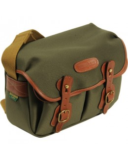 Billingham Hadley Shoulder Bag Small (Sage with Tan Leather Trim)