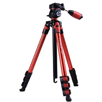 Fotopro S3 Photo Tripod (Red)