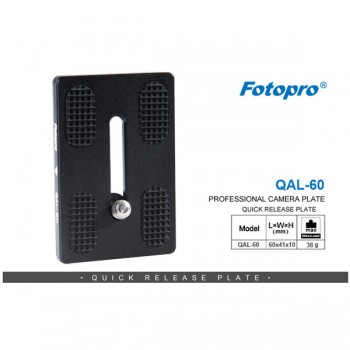 FOTOPRO QAL-60 quick release plate
