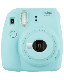 Fujifilm instax mini 9 Instant Film Camera (Ice Blue) + Fujifilm Instax Mini Single Pack Film (10pcs) (Fujifilm Malaysia )