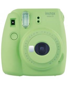 Fujifilm instax mini 9 Instant Film Camera (Lime Green) + Fujifilm Instax Mini Single Pack Film (10pcs) (Fujifilm Malaysia )