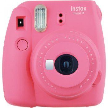 Fujifilm instax mini 9 Instant Film Camera (Flamingo Pink) + Fujifilm Instax Mini Single Pack Film (10pcs) (Fujifilm Malaysia )