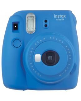 Fujifilm instax mini 9 Instant Film Camera (Cobalt Blue) + Fujifilm Instax Mini Single Pack Film (10pcs) (Fujifilm Malaysia )