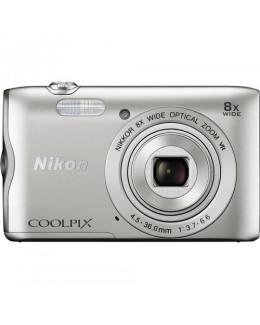 Nikon COOLPIX A300 Digital Camera (Silver) ( Nikon Malaysia )