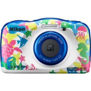 Nikon COOLPIX W100 Digital Camera (White 2) ( Nikon Malaysia )