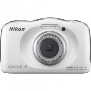 Nikon COOLPIX W100 Digital Camera (White)  ( Nikon Malaysia )
