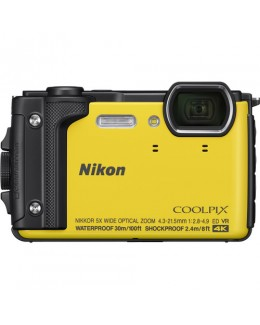 Nikon COOLPIX W300 Digital Camera (Yellow) (Nikon Malaysia)