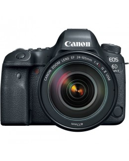 Canon EOS 6D Mark II DSLR Camera with 24-105mm f/4 L IS II USM Lens ( Canon Malaysia )