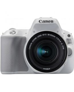 Canon EOS 200D DSLR Camera in Silver + 18-55mm IS STM Lens Kit ( Canon Malaysia )
