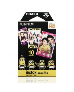 Fujifilm Instax Mini Minions  3 (Movie Ver.) Film (10 pcs)
