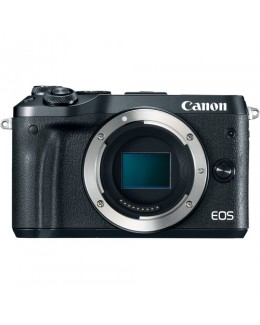 Canon EOS M6 Mirrorless Digital Camera (Body Only, Black) (Canon Malaysia )