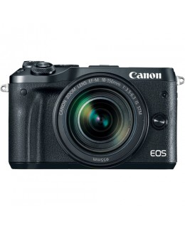Canon EOS M6 Mirrorless Digital Camera with 18-150mm Lens (Black) (Canon Malaysia )