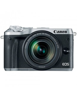 Canon EOS M6 Mirrorless Digital Camera with 18-150mm Lens (Silver) (Canon Malaysia )
