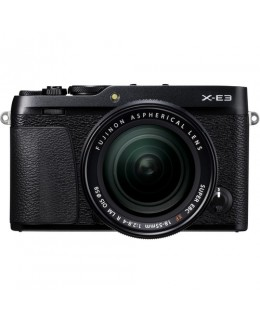 Fujifilm X-E3 Mirrorless Digital Camera with 18-55mm Lens (Black) ( Fujifilm Malaysia )