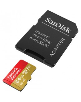 Sandisk Extreme PRO SDXC 64GB UHS-I Memory Card (Up to Read 100 MB/s / Write 90 MB/s)