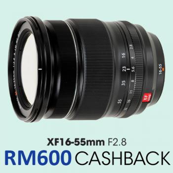 FUJIFILM FUJINON XF16-55mm F2.8R LM WR Lens   (Fujifilm Malaysia)