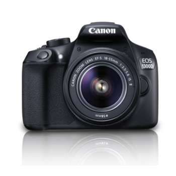 (PROMO)Canon EOS 1300D with EF-S 18-55mm F3.5-5.6 IS II Lens (Canon Malaysia)