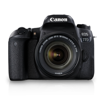(PROMO)Canon EOS 77D With EFS 18-55 F3.5-5.6 IS STM Lens (Canon Malaysia)