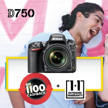 Nikon D750 Body Only Black