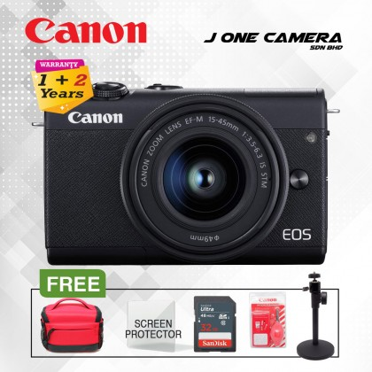 Canon EOS M200 EF-M 15-45 IS STM kit