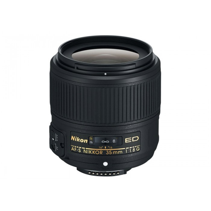 how to use nikon 35mm f1 8 lens