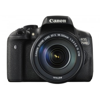 Canon EOS 750D with EF-S 18-135mm F3.5-5.6 IS STM Lens  (Canon Malaysia)