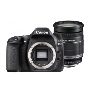 Canon EOS 80D with EF-S 18-200mm F3.5-5.6 IS Lens (Canon Malaysia)