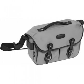 Billingham Hadley Pro Shoulder Bag (Gray Canvas & Black Leather)