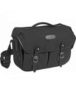 Billingham Hadley Pro Shoulder Bag (Black Canvas & Black Leather)
