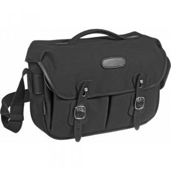 Billingham Hadley Pro Shoulder Bag (Black Canvas & Black Leather)