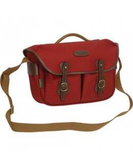 Billingham Hadley Pro Shoulder Bag (Burgundy Canvas & Chocolate Leather)