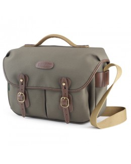 Billingham Hadley Pro Shoulder Bag (Sage FibreNyte & Chocolate Leather)