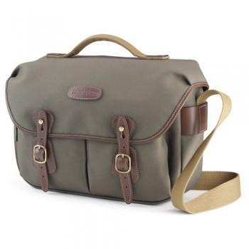 Billingham Hadley Pro Shoulder Bag (Sage FibreNyte & Chocolate Leather)