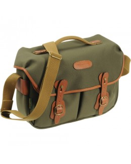 Billingham Hadley Pro Shoulder Bag (Sage FibreNyte & Tan Leather)