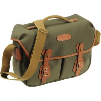 Billingham Hadley Pro Shoulder Bag (Sage FibreNyte & Tan Leather)