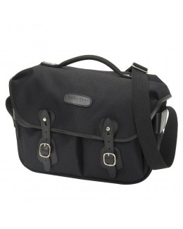 Billingham Hadley Pro Shoulder Bag (Black FibreNyte & Black Leather)