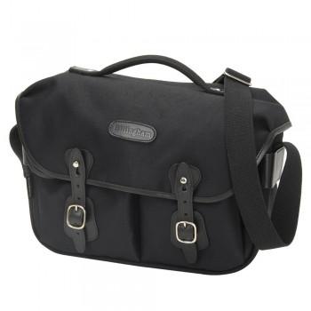 Billingham Hadley Pro Shoulder Bag (Black FibreNyte & Black Leather)