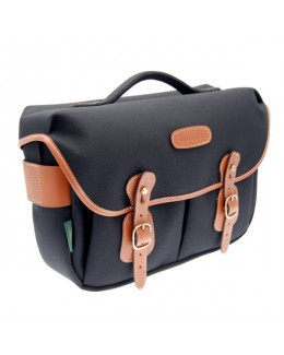 Billingham Hadley Pro Shoulder Bag (Black FibreNyte & Tan Leather)