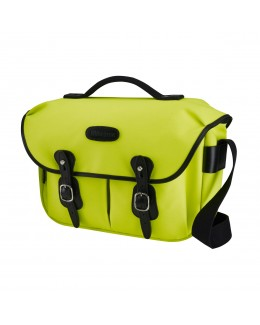 Billingham Hadley Pro Shoulder Bag (Neon Yellow Canvas & Black Leather)