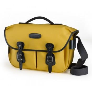 Billingham Hadley Pro Shoulder Bag (Yellow Canvas & Black Leather)