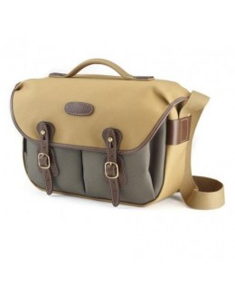 Billingham Hadley Pro Shoulder Bag (Khaki FibreNyte 2-Tone & Black Leather)