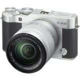 Fujifilm X-A3 Mirrorless Digital Camera with 16-50mm Lens SILVER  * CNY Promotion * (FOC 32GB SD Card & Leather Half Case & Bag  & NP-W126 Battery ) (Fujifilm Malaysia)