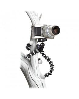 Joby GorillaPod Hybrid Flexible Mini-Tripod with Ball Head (Grey/Black)