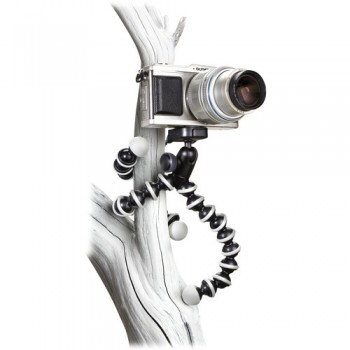 Joby GorillaPod Hybrid Flexible Mini-Tripod with Ball Head (Grey/Black)